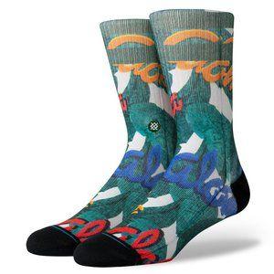 NWT Aloha Leaves Socks